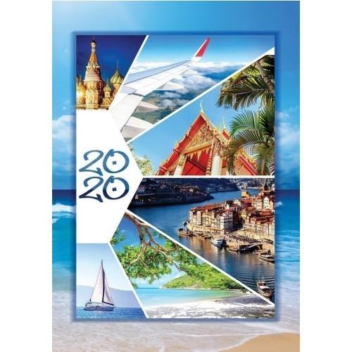 Határidőnapló (Utazás) - Zsebnaptár 2020