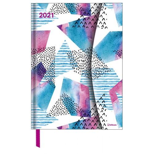 Akvarellek - mágneses határidőnapló - 2021