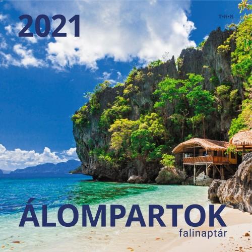 Álompartok - Képes falinaptár (nagy) 2021