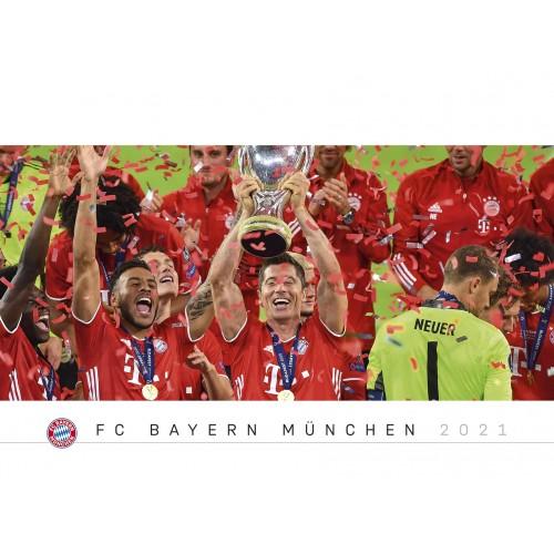 FC Bayern München poszternaptár - Képes falinaptár (óriási nagy) 2021