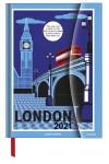London - mágneses határidőnapló - 2021