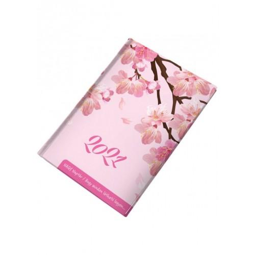 Nagy naptár (cseresznyevirág) - Zsebnaptár 2021