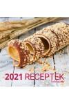 Receptek - Képes falinaptár (nagy) 2021