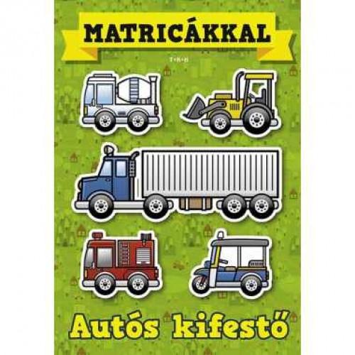 Autós kifestő matricákkal *
