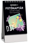 Fotónaptár (DIY) -  Kicsi, spirálozott asztali naptár 2019