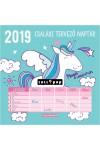 Magic Unicorn - Családi tervező naptár - Képes falinaptár 2019