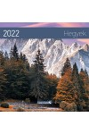 Hegyek - Képes falinaptár (kicsi) 2022