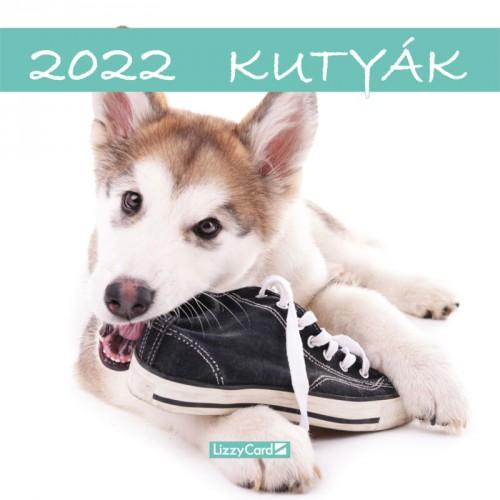 Kutyák - Képes falinaptár (kicsi) 2022