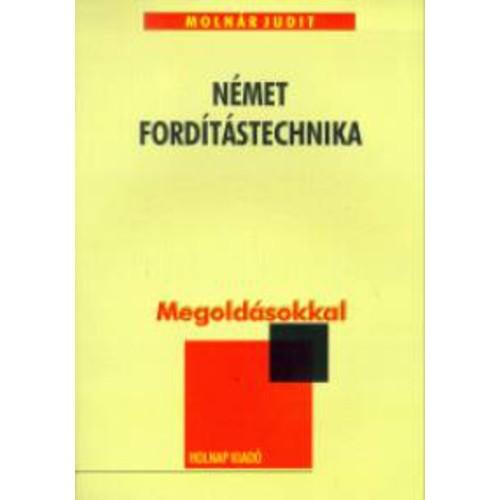 Német fordítástechnika (Megoldásokkal)