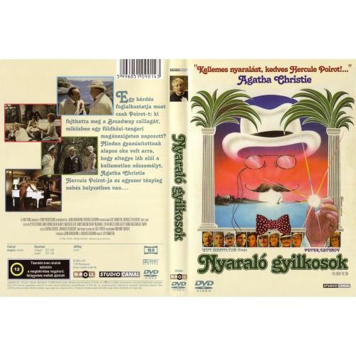 Nyaraló gyilkosok (Agatha Christie) (DVD), B-Roll Kft. kiadó, DVD