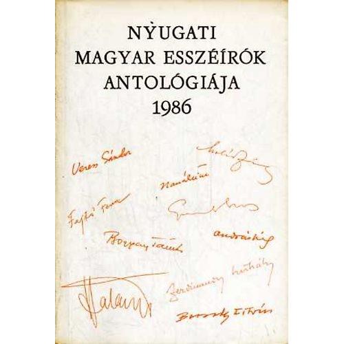 Nyugati magyar esszéírók antológiája, 1986