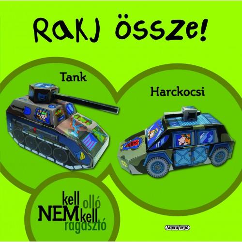 Rakj össze! - Harckocsi és tank