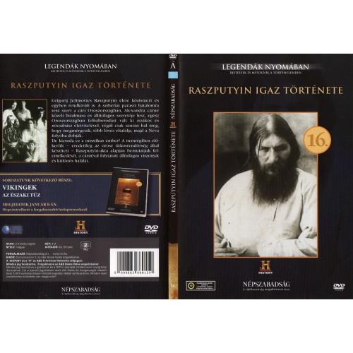 Raszputyin igaz története - Legendák nyomában 16. (DVD)