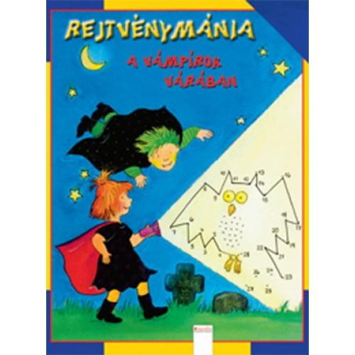 Rejtvénymánia - A vámpírok várában - Rejtvényfüzet gyerekeknek
