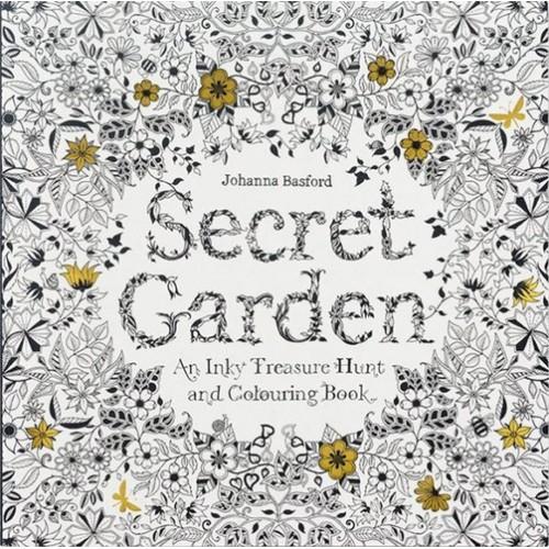 Secret Garden (Titkos kert felnőtt színező füzet, nagy)
