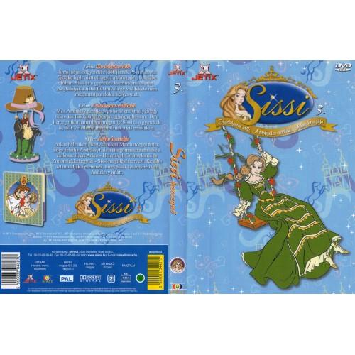 Sissi hercegnő 3. DVD *