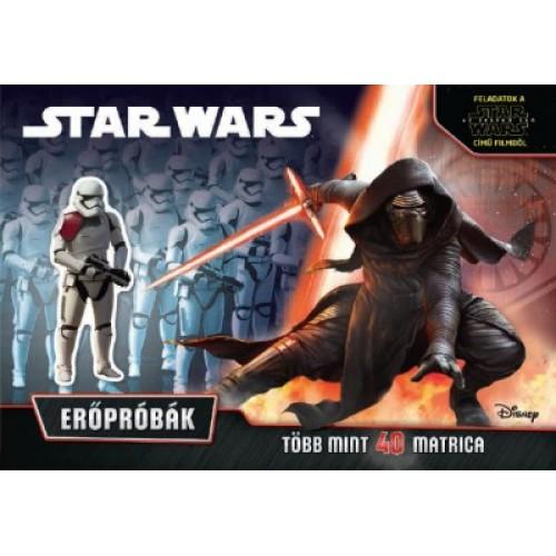 Star Wars - Erőpróbák (foglalkoztató)