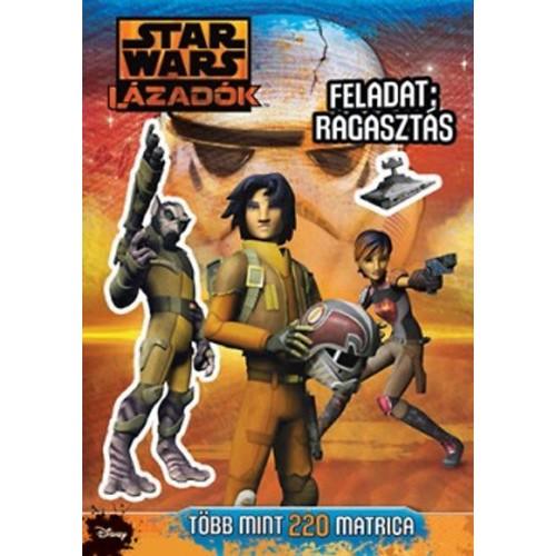 Star Wars - Lázadók - Feladat: Ragasztás (matricás foglalkoztató)