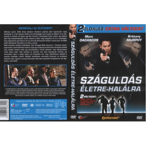 Száguldás életre-halálra (DVD) *
