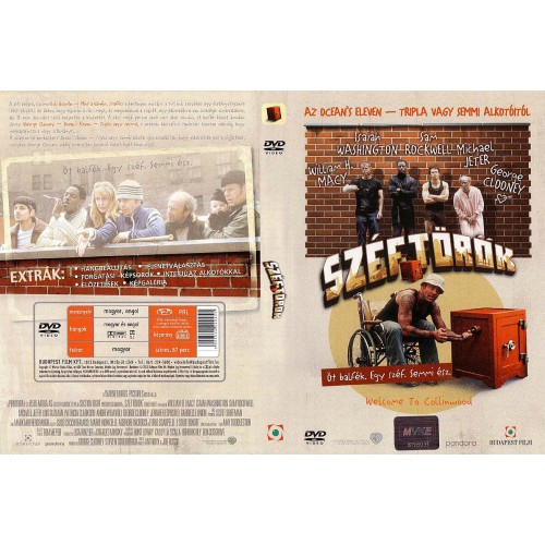 Széftörők (DVD)