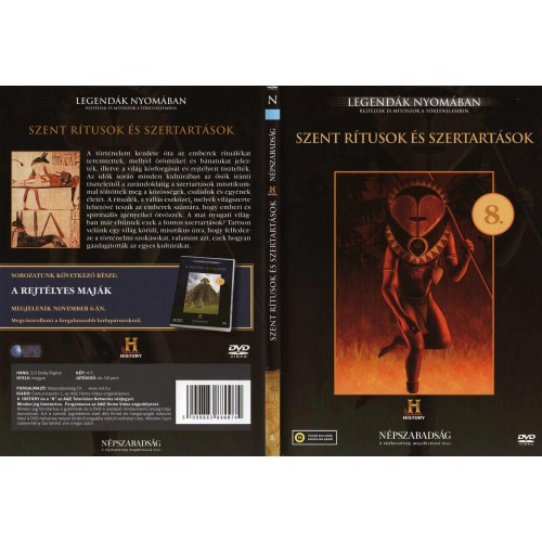 Szent rítusok és szertartások - Legendák nyomában 8. (DVD) *
