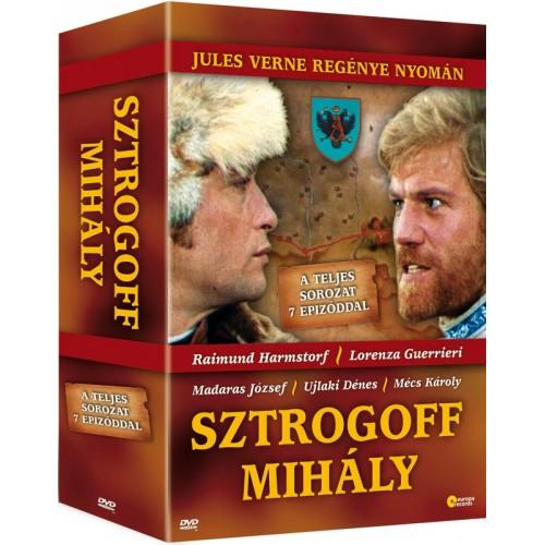Sztrogoff Mihály 3 DVD-s díszdoboz (DVD), Europa Records Kft. kiadó, DVD