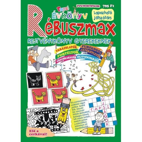 Tapsi Rébuszmax rejtvénykönyv gyerekeknek