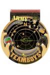 TeamBoys Stencil - Army (Rajzoló-, színezőfüzet sablonokkal - hadsereg)