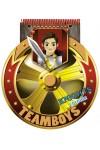 TeamBoys Stencil - Knights (Rajzoló-, színezőfüzet sablonokkal - lovagok)