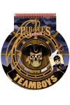 TeamBoys Stencil - Pirates (Rajzoló-, színezőfüzet sablonokkal - kalózok)