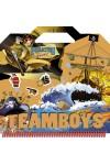 TeamBoys Stickers - Pirates (matricásfüzet)