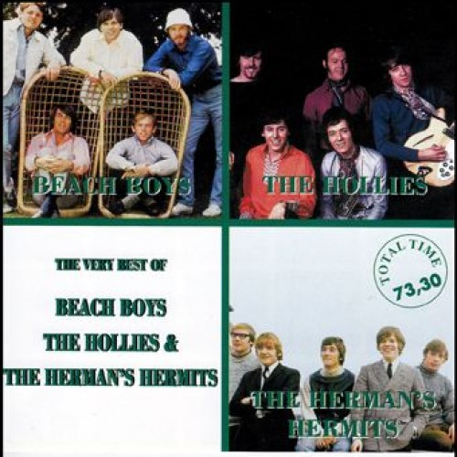 The Very Best of Beach Boys, The Hollies & The Herman's Hermits (CD)