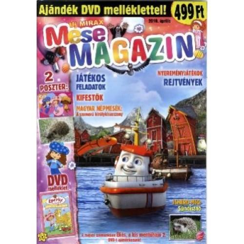 Új Mirax Mese Magazin 2010 április (DVD-vel)