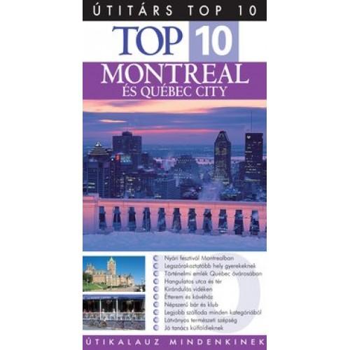 Útitárs Top 10 - Montreal és Québec City