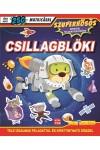Csillagblöki- Szuperhősös matricás foglalkoztatókönyv