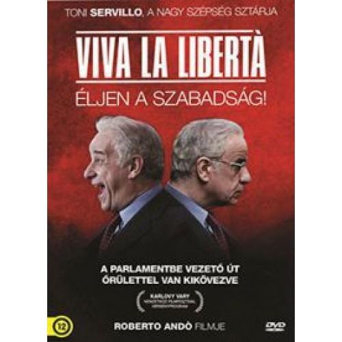 Viva la libertà - Éljen a szabadság! (DVD)