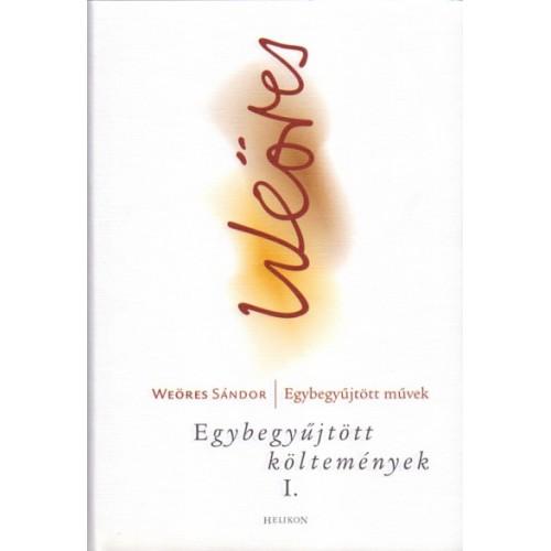 Weöres Sándor egybegyűjtött művei, versek, műfordítások egy csomagban