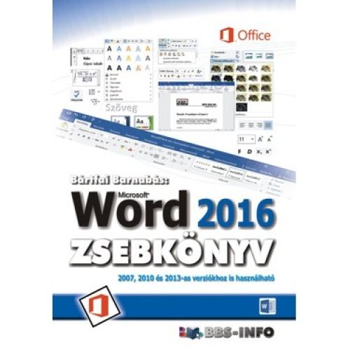 Word 2016 zsebkönyv